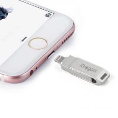 128GB Dual USB Flash Drive with Lightning