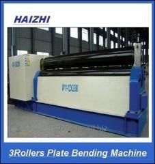 3rollers plate bending machine metal bellow