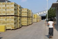 Rock wool insulation material for wall and roof