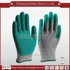 Seeway Latex Coated Cut Resistant Work Gloves
