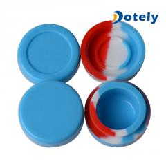 Non Stick Silicone Jars Wax Container Set for Ecig