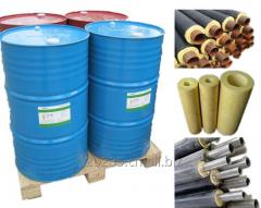 Polyurethane PU Expanding Foam Pipe Insulation Raw