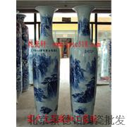北京大花瓶酒店装饰大花瓶景德镇陶瓷大花瓶加工定做