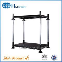 M-4 High quality warehouse stackable metal cage pallets