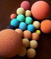 Durable 5 inch Concrete Pump Sponge Rubber Foam Wiper Ball for Putzmeister Schwing