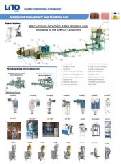 Automatic filling and packing line