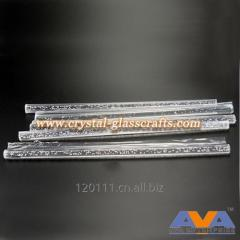 High quality acrylic clear colored bubble rods for decoration