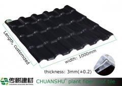 Eco-friendly roof tile / roof sheet