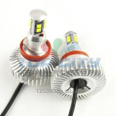 天使眼 LED E92 H8 80W LED天使眼,宝马LED天使眼,适用宝马BMW