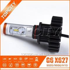新款汽车led大灯9005/9006/H10/HB3/HB4 大功率高亮度