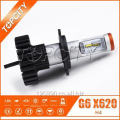 TOPCITY拓远 H4 80W 大功率超高亮汽车LED前大灯