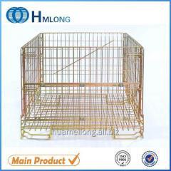 F-5 Warehouse storage mesh stacking pallet cage