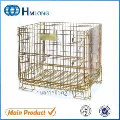F-14 Heavy duty warehouse steel wire storage cage