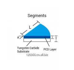 Segments pcd cutting tool blanks