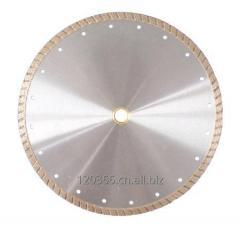 XU corrugated diamond saw blade turbine type