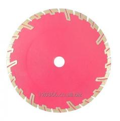 Corrugated turbo diamond saw-cut resistant