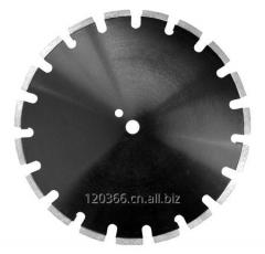 Concrete cutting laser welded diamond saw blade
