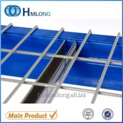 U channel Material handling storage support decking for step beam