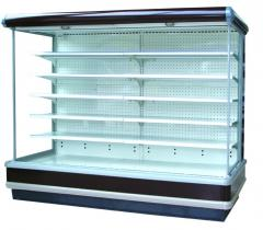 Multi Decks Open Display Freezer for Supermarket and Convenience stores with led Lighting
