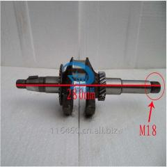 Water pump crankshaft