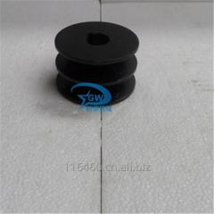Tiller parts belt pulley
