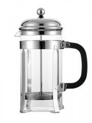 Borosilicate Glass French Press Coffee & Tea Maker