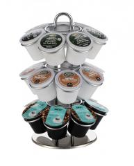 Metal Table Stand Keurig Coffee Pod Holder for 21 K-cup