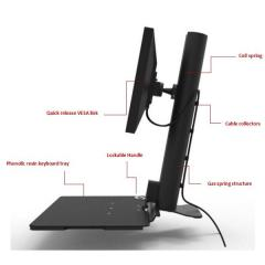 Sit / stand Workstation H100