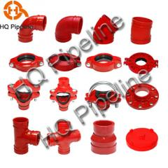 FM/UL Ductile iron grooved fittings
