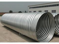 Spiral Corrugated Metal Pipe