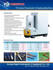 TS-02 pneumatic crimping machine