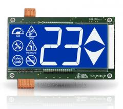 LCD DISPLAY FOR LIFTS