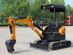 China Mini Digger Small Excavator 1.8ton