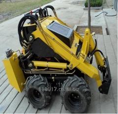 Multi purpose mini skid steer loader