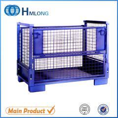 T-7 Heavy duty storage steel pallet box container  auto parts