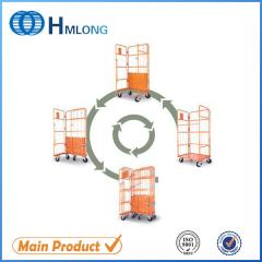 JP-1 Insulated wire metal supermarket roll cages