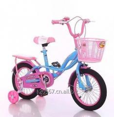 新的模型孩子自行车与音乐和闪亮的光