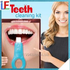 Safe Material Melamine Sponge Teeth Whitening Kit