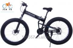 雪自行车宽轮胎高速