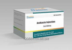 Amikacin injection 500mg/2ml, 100mg/2ml,1g/4ml