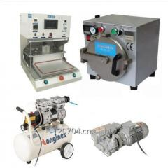 13 inch High Precision automatic Vacuum OCA Laminating Machine for cell phone touch panel repair Kit