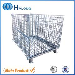 W-1 Logistic welding steel storage mesh container