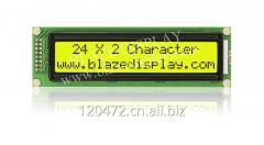 STANDARD LCD( COB)OF BLAZE DISPLAY BCB2402-03-Yellow-Green