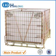 F-22 Euro welded stackable metal wire mesh container PET bottle