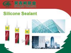 Super bonding silicone sealant cartridge gap filler
