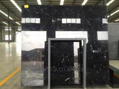 New Black Ice Flower Marble for Home Design