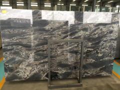 Beautiful High Polished Lava Ocean Marble for bathroom background design & floor tiles