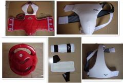 Martial arts equipment and belts