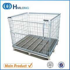 NF-1 Industrial stackable steel wire mesh pallet cage
