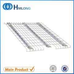 F channel Step beam warehouse storage wire mesh racking steel decking